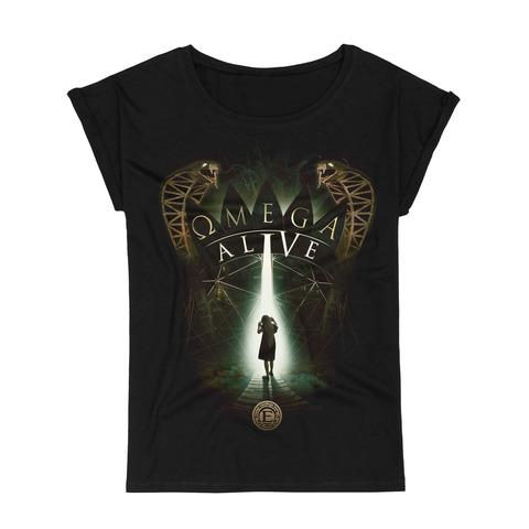 Omega Alive von Epica - Girlie Shirt jetzt im Bravado Store