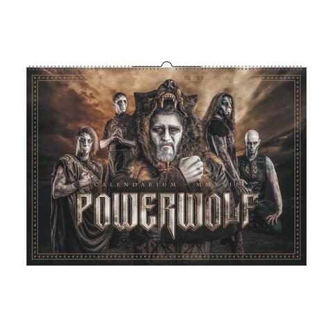 MMXXII von Powerwolf - Wandkalender jetzt im Bravado Store