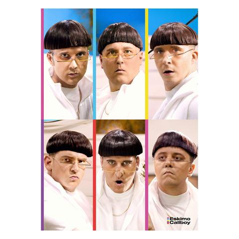 WGTM Portraits von Eskimo Callboy - Poster jetzt im Bravado Store