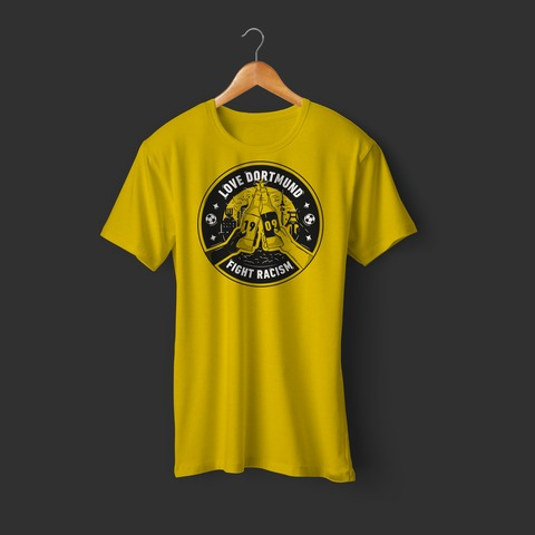 Fight Racism von Schwatzgelb - Girlie Shirt jetzt im Bravado Store