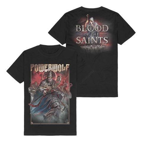 Blood Of The Saints von Powerwolf - T-Shirt jetzt im Bravado Store