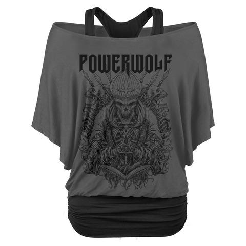 Skull Saint von Powerwolf - Double Layer Top jetzt im Bravado Store