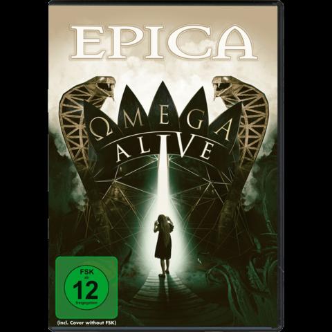 Omega Alive (DVD/BluRay) von Epica - DVD / BluRay jetzt im Bravado Store