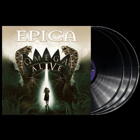 Omega Alive (3LP Black) von Epica - 3LP jetzt im Bravado Store