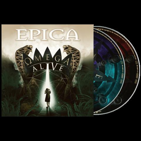 Omega Alive (2CD Digipack) von Epica - 2CD jetzt im Bravado Store