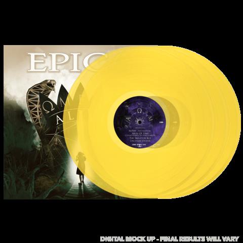 Omega Alive (Ltd 3LP Sun Yellow) von Epica - 3LP jetzt im Bravado Store