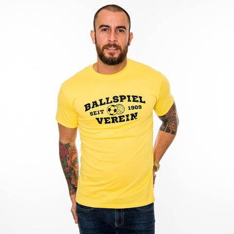 √Sporthochschule BV gelb T-Shirt von Schwatzgelb - T-Shirts jetzt im Bravado Shop