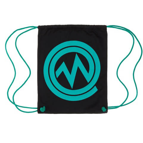 √Marsimoto Logo Gymbag - Black von Marsimoto - Bags jetzt im Bravado Shop