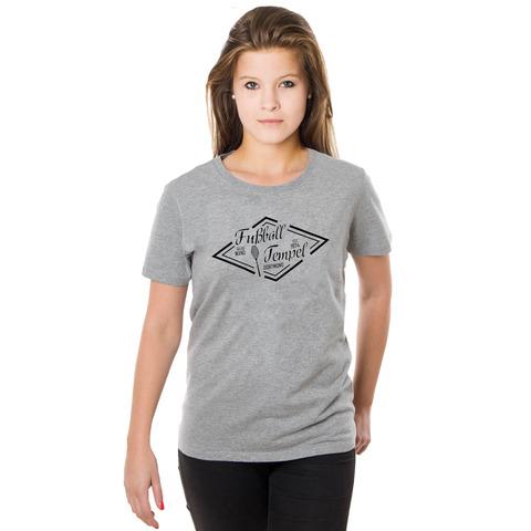 √Fußballtempel Girl-Shirt von Schwatzgelb - Girlies jetzt im Bravado Shop