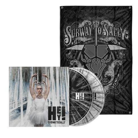 √HEY! (Bundle CD/DVD - Limited Fan Edition + Flagge) von Subway To Sally - CD jetzt im Bravado Shop