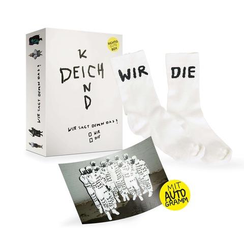 √Wer Sagt Denn Das? (Ltd. RGZ Bundle 2: Richtig Gute Box + Socken + Autogrammkarte) von Deichkind - Box set jetzt im Bravado Shop