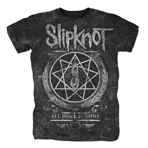 √Blurry Allover von Slipknot - T-shirt jetzt im Bravado Shop
