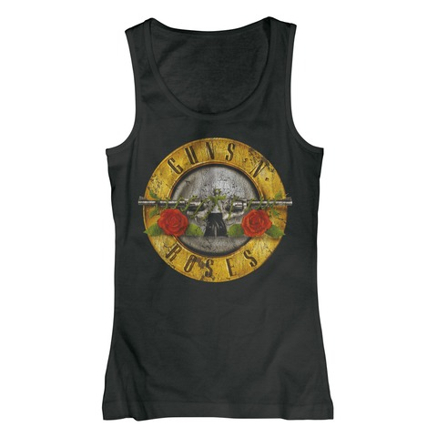 Distressed Bullet von Guns N' Roses - Girlie Top jetzt im Bravado Shop