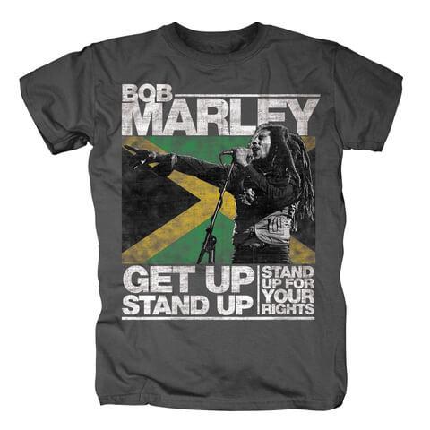 √Get Up von Bob Marley - T-Shirt jetzt im Bravado Shop