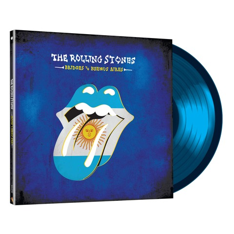 √Bridges To Buenos Aires (3LP Ltd. Edition Translucent Blue) von The Rolling Stones - LP jetzt im Bravado Shop
