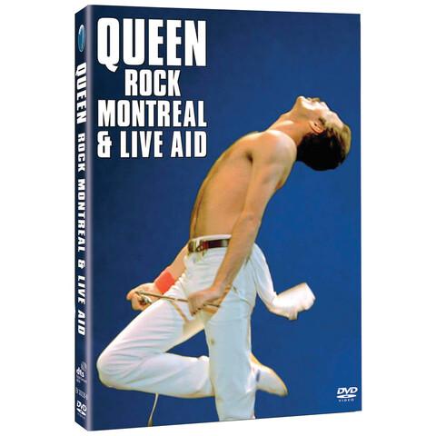 √Rock Montreal & Live Aid (2DVD) von Queen - DVD jetzt im Bravado Shop