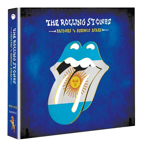 √Bridges To Buenos Aires (DVD+2CD) von The Rolling Stones - DVD + 2CD jetzt im Bravado Shop