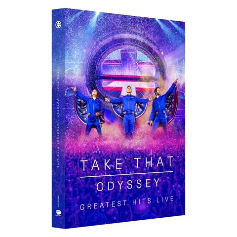 √Odyssey - Greatest Hits Live von Take That - DVD + CD jetzt im Bravado Shop