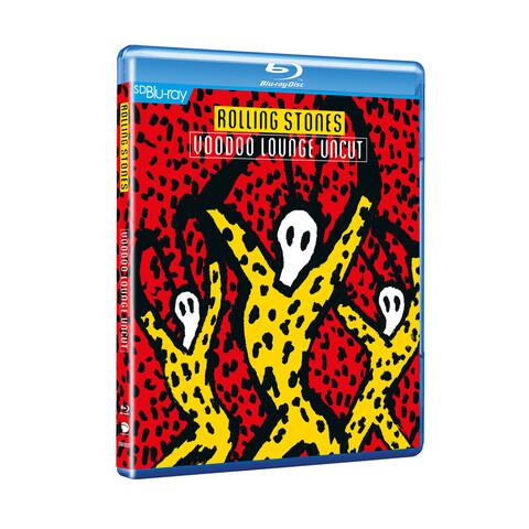 √Voodoo Lounge Uncut (SD Blu-Ray) von The Rolling Stones - CD jetzt im Bravado Shop