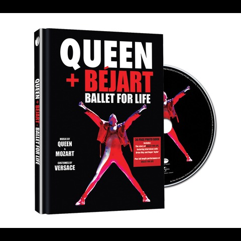 √Ballet For Life (Ltd. Deluxe Edition BluRay) von Queen + Bejart - BluRay jetzt im Bravado Shop