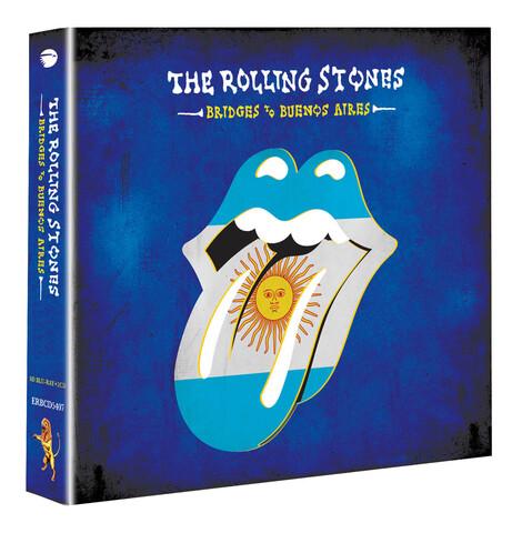 Bridges To Buenos Aires (BluRay + 2 CD) von The Rolling Stones - BluRay + 2 CD jetzt im Bravado Shop