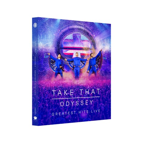 √Odyssey - Greatest Hits Live von Take That - BluRay jetzt im Bravado Shop