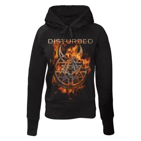 Burning Belief von Disturbed - Girlie Kapuzenpullover jetzt im Bravado Shop
