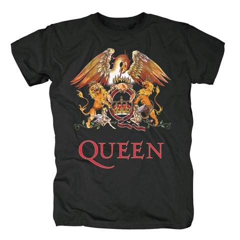 Crest von Queen - T-Shirt jetzt im Bravado Shop