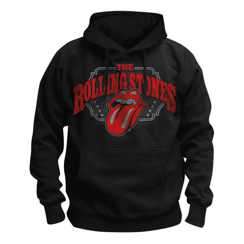 √Stripper Tongue von The Rolling Stones - Hood sweater jetzt im Bravado Shop