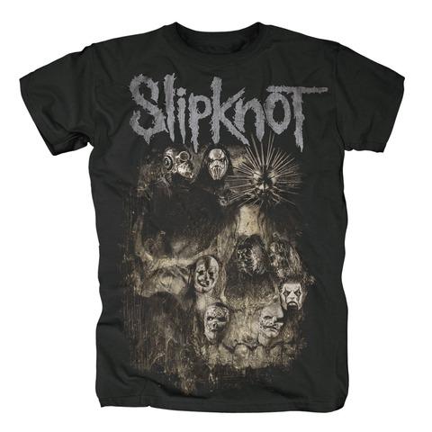 Skull Group von Slipknot - T-Shirt jetzt im Bravado Shop