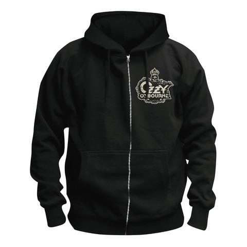 Crowned Skull Logo von Ozzy Osbourne - Kapuzenjacke jetzt im Bravado Shop