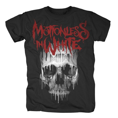 √Melting Skull von Motionless In White - 100% cotton jetzt im Bravado Shop