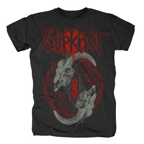 Horned Logo von Slipknot - T-Shirt jetzt im Bravado Shop
