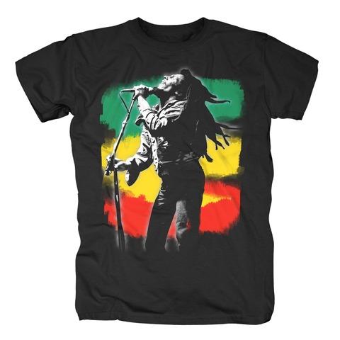 Rasta Stripe Live von Bob Marley - T-Shirt jetzt im Bravado Shop