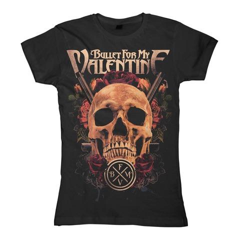 Pistol Death von Bullet For My Valentine - Girlie Shirt jetzt im Bravado Shop