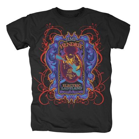 √Electric Ladyland von Jimi Hendrix - T-shirt jetzt im Bravado Shop