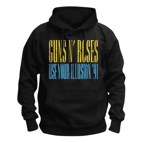 √Pirate Skull Illusion von Guns N' Roses - Hood sweater jetzt im Bravado Shop