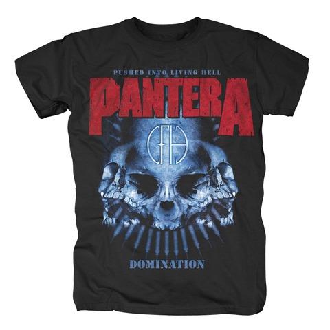 Domination von Pantera - T-Shirt jetzt im Bravado Shop