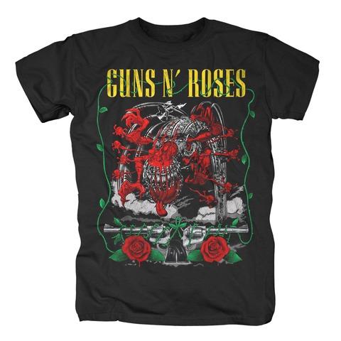 √Appetite Creature and Pistols von Guns N' Roses - T-Shirt jetzt im Bravado Shop