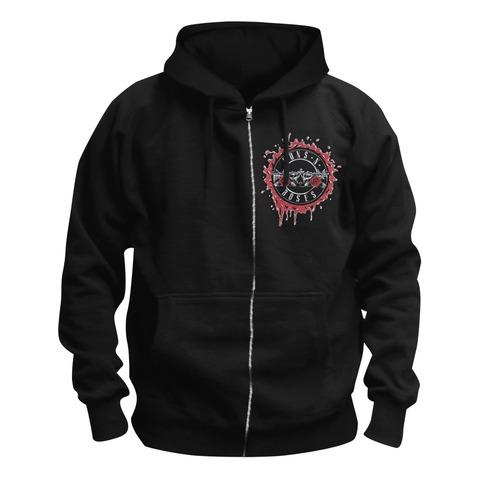 √Suicide Skull von Guns N' Roses - Hooded jacket jetzt im Bravado Shop