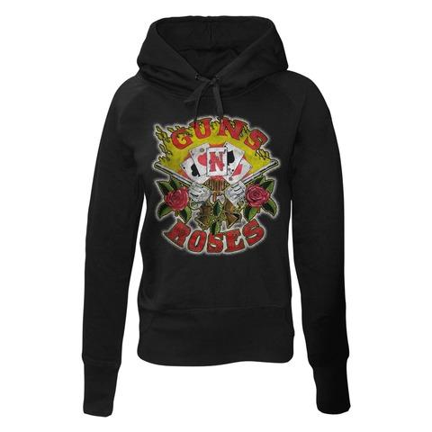 √Cards von Guns N' Roses - Girlie hooded sweater jetzt im Bravado Shop