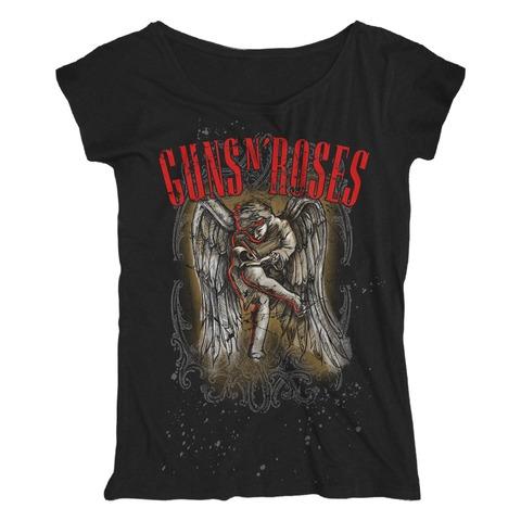 √Sketched Cherub von Guns N' Roses - Loose Fit Girlie Shirt jetzt im Bravado Shop