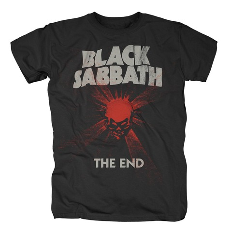 √The End Mushroom Cloud von Black Sabbath - T-shirt jetzt im Bravado Shop