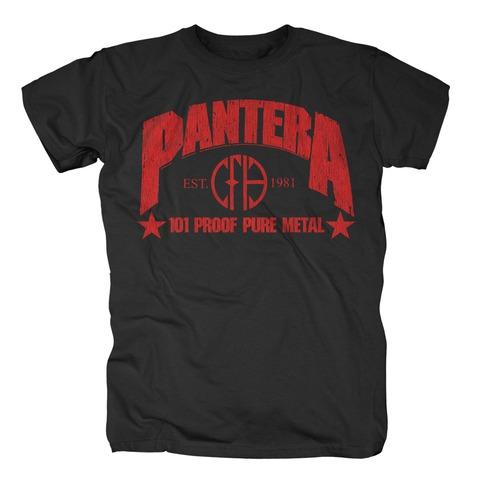 101 Proof Pure Metal von Pantera - T-Shirt jetzt im Bravado Shop