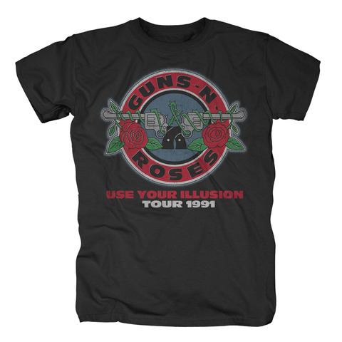 √Illusion Bullet Seal von Guns N' Roses - T-Shirt jetzt im Bravado Shop