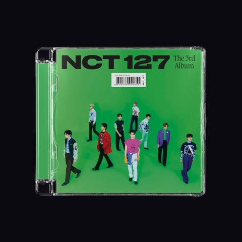 The 3rd Album 'Sticker' von NCT 127 - Jewel Case CD jetzt im Bravado Store