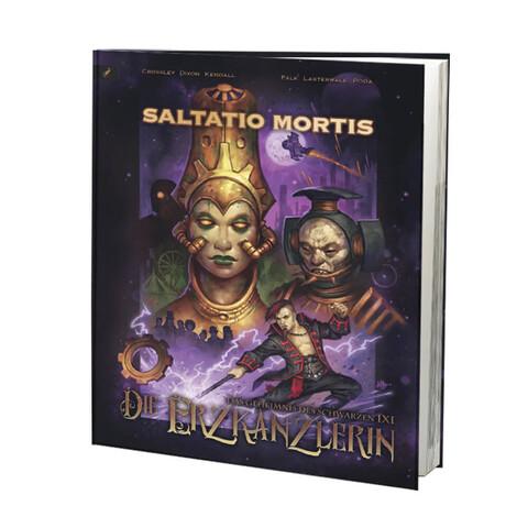 √Das Geheimnis des schwarzen IXI - Die Erzkanzlerin von Saltatio Mortis - Buch jetzt im Bravado Shop
